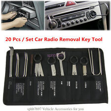 20pcs Car Radio CD DVD GPS Head Installing And Removal Tool Set Kit With Bag
