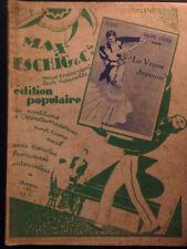 La veuve joyeuse Lehar Eschig Meilhac operette partition piano