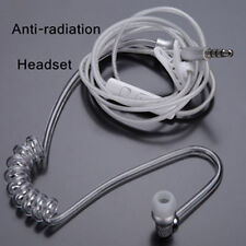 3.5mm In Ear Anti-radiation Earphone Air Tube Stereo Headset Mono Headphones