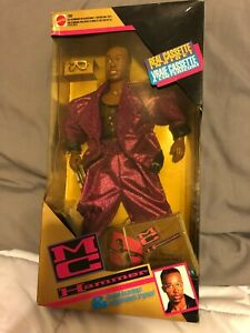 MC Hammer Doll New in Box 1991 Vintage Mattel with Cassette Tape