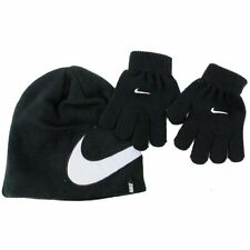 Nike 2-Piece Youth Knit Winter Beanie Hat & Glove Set
