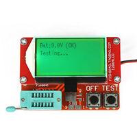 12864 Mega328 Transistor Tester Diode Triode Capacitance ESR Meter MOS/PNP/NPN