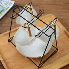 Counter Metal Hanger Coffee Cup Storage Rack Kitchen Dishes Mug Holder Shelf