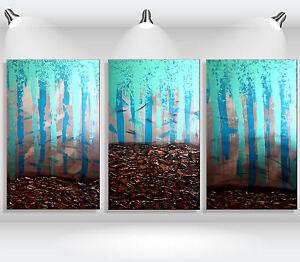 ORIGINAL Abstrakt Leinwandbild HANDGEMALT modern XXL Bilder Acryl Wandbild Braun
