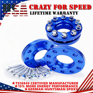 4PC 5x120(2) 15mm &(2) 20mm W/ Bolts Hub Centric Wheel Spacers Staggered For BMW