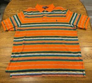 Polo Ralph Lauren Multi Color Polo Shirt Men's 2XT 2X Tall Nice Colors