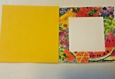 10 Summertime Invitations & Envelopes 8x8 ~ Colors By Design ~ New