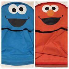 Backpack Bag Cookie Monster Elmo Reversible Cute