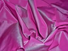 X-DYED TAFFETA -MAROON/TURQUOISE-DRESS  FABRIC-FREE P+P