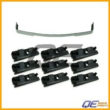 BMW E30 Valance Spoiler 'is' Style Front Lower Trim + 10 clips