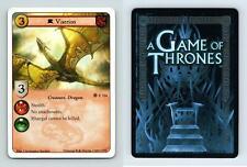 Viserion #F 116 - A Game Of Thrones A Hidden Agenda 2013 LCG Card