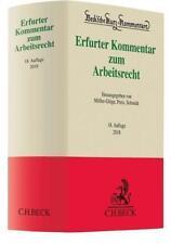 Erfurter Kommentar zum Arbeitsrecht (2017, Gebundene Ausgabe)