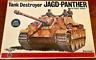 Vintage Bandai 1/48 German WW2 Jagd-Panther Tank Destroyer Model Kit
