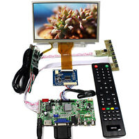 "HDMI VGA AV Audio USB  LCD Controller Board 7"" AT070TN92 TN93 800x480 Touch LCD"