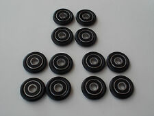 (12) Wheels Rollers Rod Wrapping Winding / Pool Cue Repair -Make your own lat