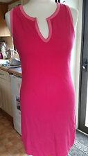 Looks New Ladies Barbie Pink Sleeveless Sz 10 S Dress by Antonia Bay