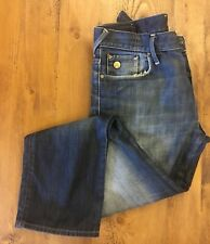 G-star Raw 3301 Mens Distressed Blue Jeans Size 32 Length 30