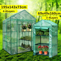 Roof Garden Greenhouse Cover Durable House Flower Plant Warm Shelf Shed PVC