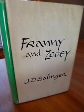 FIRST EDITION PRINTING J. D. Salinger FRANNY AND ZOOEY with dust jacket! NICE!