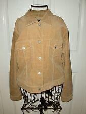 "Women's""TOM TAILOR""Beige Corduroy 96%Cotton/4%Spandex Crop Jacket size S Cute!"