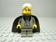 LEGO Figur Harry Potter Lucius Malfoy hp018 + Cape dunkelgrauer Anzug 4731