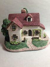 San Francisco Music Box Company Ceramic House Plays No Place Like Home