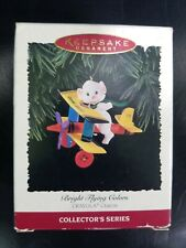 Bright Flying Colors Crayola Crayons Bi-plane Hallmark Keepsake Ornament (d1)