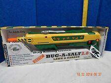 Bug-A-Salt 2.0 LAWN & GARDEN Model, GREEN & YELLOW