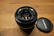 OLYMPUS OM-System ZUIKO AUTO-S 50mm 1:1,8 Made in Japan Objektiv neuwertig
