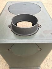 "Jotul 600, 601, 602, 1940, 404. Replacement cast 5"" Flue Spigot Chimney Outlet"