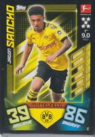 Match Attax 19/20 Bundesliga 2019/2020 Basiskarte Nr.92 - Jadon Sancho