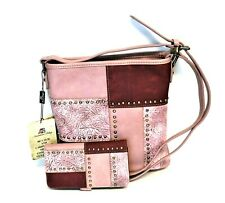 Montana West Concealed Carry Purse Wallet Floral Country Cowgirl Crossbody Bag