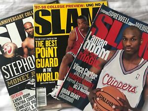 Slam magazine vintage lot Marbury Odom Alston Skip to my Lou New York