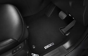 Mazda CX9 Front Floor Mats, Carpet, Genuine, NEW CX9 07/2016> - TC11-AC-FMF
