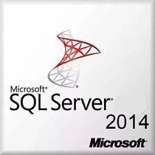 Licencia Microsoft window Sql Server 2014 Standard 1 PC