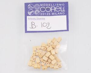 Corel B102 Crochet-Moufle 1 Yeux 5 MM (50 Pièces) Modélisme