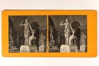 Francia París Museo Del Louvre Estatua Diane en La Palanca c1900 Foto Estéreo