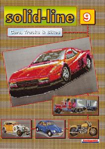Vorlagenheft Mini Stecksystem Cars, Trucks & Bikes Nr. 9