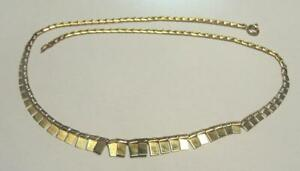 9 CARAT GOLD NECKLACE WEIGHT 4.3 GRAMS