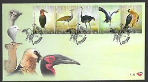 South Africa 2008 Big 5 of Birds F.D.C.