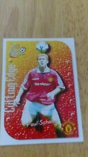 Manchester United Futera 1999 Fans Selection Cutting Edge Embossed Card CE5