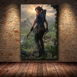 The Poster Decoration Painting of Tomb Raider Wall Decor Poster , no Framed