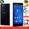 Brand New Sony Xperia Z3 Compact 16GB Black E5803 Unlocked Android SmartPhone UK