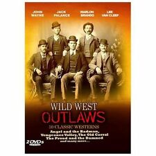 Wild West Outlaws (DVD, 2009, 2-Disc Set) BRAND NEW SEALED