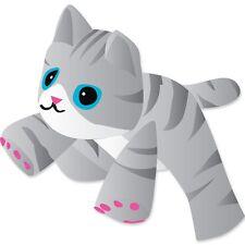 "Gray Tabby Kitten Large 96"" Long (Approx) - Special Kite Windsock PR 45948"