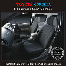 SUPERIOR TOYOTA COROLLA ASCENT/CONQUEST FRONT WATERPROOF WETSUIT CAR SEAT COVERS