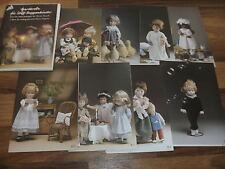 Christa Franck -- Garderobe für Puppenkinder ca 20 bis 44 cm / 8 Schnittmuster