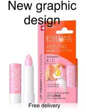 Eveline Precious Oils Lip Scrub Gentle Exfoliating Lipstick With Peeling Balm