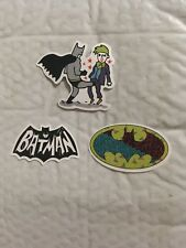 Cool Batman kicking Joker +2 Skateboard Stickers Laptop,Car Vinyl stickers New