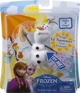 Disney Frozen Summer Singin' Olaf Doll - CJR42 - New